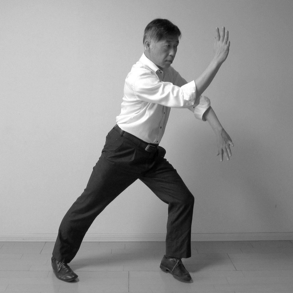 太極拳 搂膝拗步 樓膝拗步